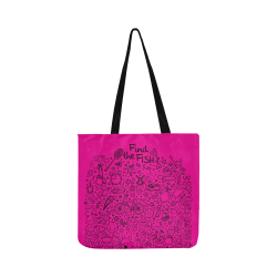 Picture Search Riddle - Find The Fish 1 Reusable Shopping Bag Model 1660 (Two sides)
