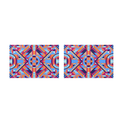 Modern Geometric Pattern Placemat 12'' x 18'' (Two Pieces)