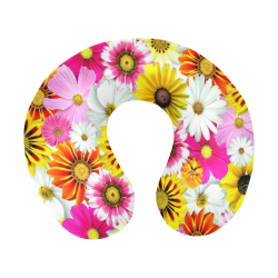 Spring Time Flowers 1 U-Shape Travel Pillow