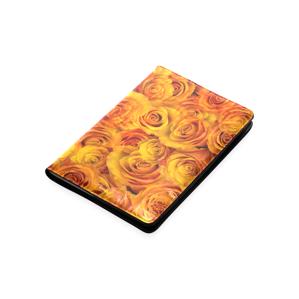 Grenadier Tangerine Roses Custom NoteBook A5