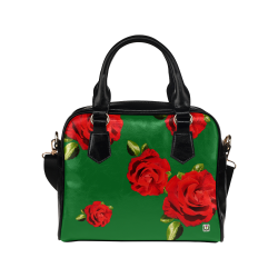 Fairlings Delight's Floral Luxury Collection- Red Rose Shoulder Handbag 53086h16 Shoulder Handbag (Model 1634)