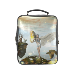 Beautiful fairy Square Backpack (Model 1618)