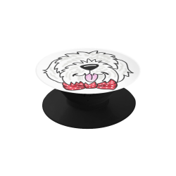 Necktie shaggy pup Air Smart Phone Holder