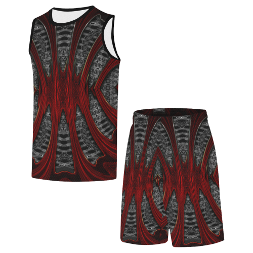 8000  EKPAH 31 low All Over Print Basketball Uniform