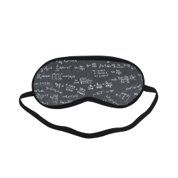 Mathematics Formulas Equations Numbers Sleeping Mask