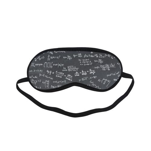 Mathematics Formulas Equations Numbers Sleeping Mask