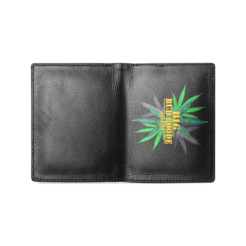 BBGD Men's Leather Wallet (Model 1612)