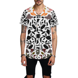 zappwaits k01 All Over Print Baseball Jersey for Men (Model T50)