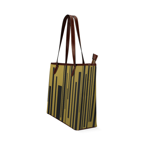 city of gold Shoulder Tote Bag (Model 1646)