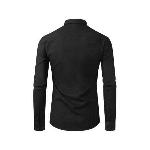 SKULL ART MODERN FASHION II Men's All Over Print Casual Dress Shirt (Model T61)