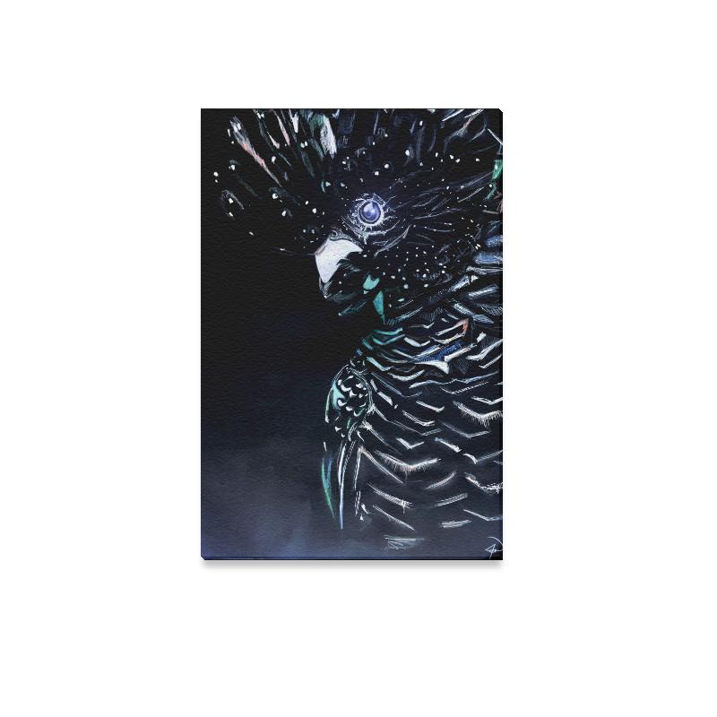 "Cockatoo Canvas Print 12""x18"""