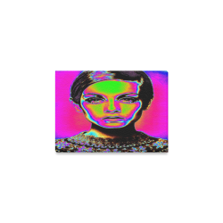 "Pop Art Fashion Canvas Print 7""x5"""