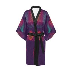 Colorful Mandala Kimono Robe