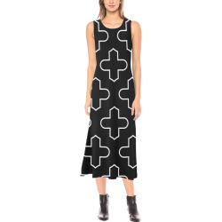 Dress Big 4 Phaedra Sleeveless Open Fork Long Dress (Model D08)