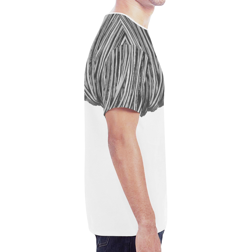 rope trans New All Over Print T-shirt for Men (Model T45)