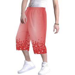 youtube 3D Baggy Shorts Men's All Over Print Baggy Shorts (Model L37)