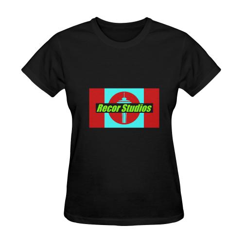 2recorblindW Sunny Women's T-shirt (Model T05)