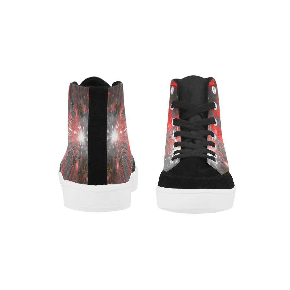 wheelVibe_vibe19 Herdsman High Top Shoes for Men (Model 038)