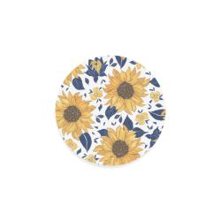 Sunflowers Round Coaster
