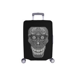 """Cod Grey Skullhead Luggage Cover/Small 18""""-21"""""""