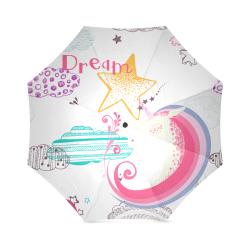 Unicorn Dream Foldable Umbrella (Model U01)