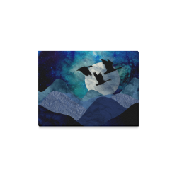 """Night In The Mountains Canvas Print 16""""x12"""""""