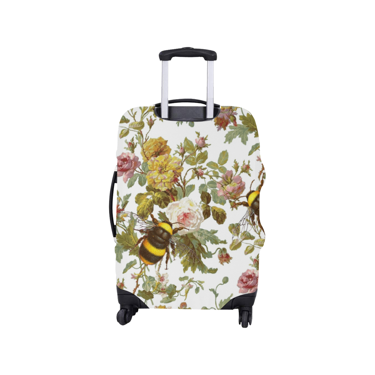 "Early Morning Bees Luggage Cover/Small 18""-21"""
