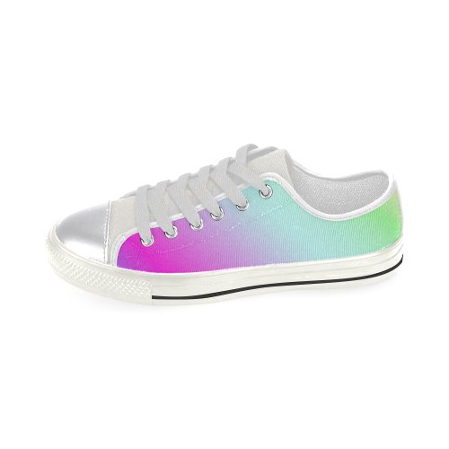 Multicolor Women's Classic Canvas Shoes (Model 018)