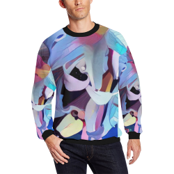 hells bells 5a All Over Print Crewneck Sweatshirt for Men (Model H18)