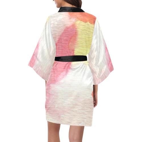 Colour Expression Kimono Robe