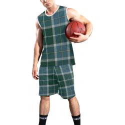SCOTTISH BORDERLAND TARTAN All Over Print Basketball Uniform