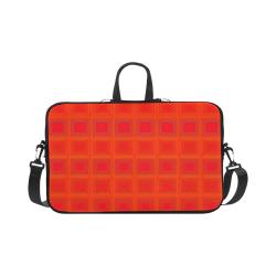 """Red orange multicolored multiple squares Macbook Pro 17"""""""