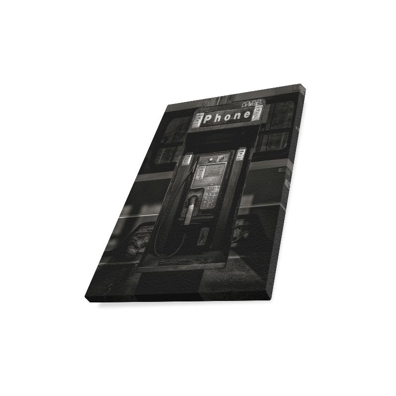 "Phone Booth No 13 Canvas Print 11""x14"""