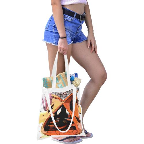 Zen Canvas Tote Bag/Medium (Model 1701)