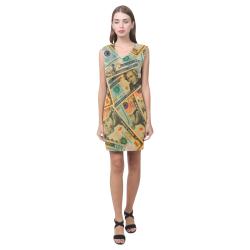 US DOLLARS 2 Phoebe Sleeveless V-Neck Dress (Model D09)