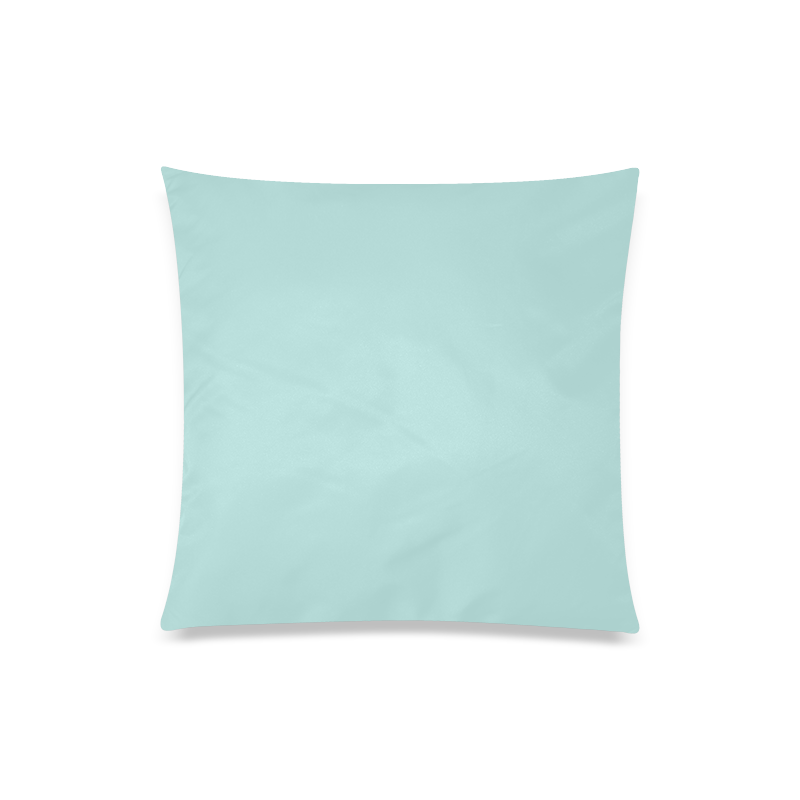 """Bleached Coral Custom Zippered Pillow Case 20""""x20""""(Twin Sides)"""