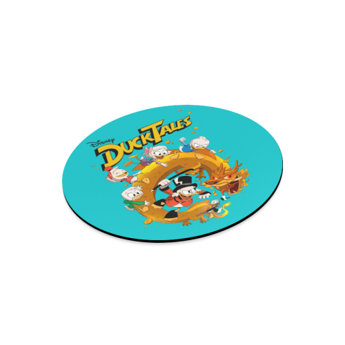 DuckTales Round Mousepad