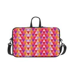 Triangle Pattern - Red Purple Pink Orange Yellow Macbook Pro 17""