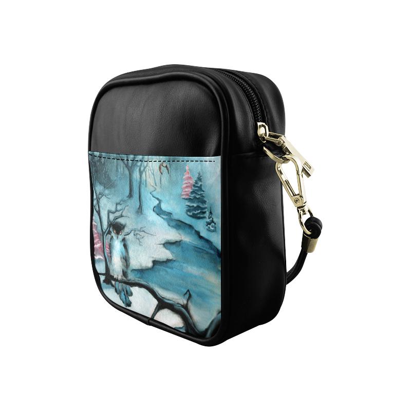 Winterwood Owl Sling Bag (Model 1627)