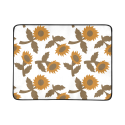 "Fantasy flowers Beach Mat 78""x 60"""