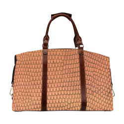 SNAKE LEATHER 2 Classic Travel Bag (Model 1643) Remake