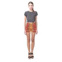 Azerbaijan Pattern 5 Briseis Skinny Shorts (Model L04)