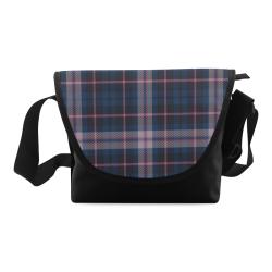 stripe blue pink Crossbody Bag (Model 1631)