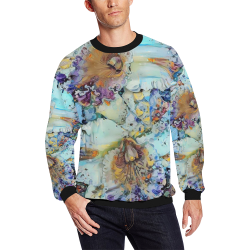 my love 51b All Over Print Crewneck Sweatshirt for Men (Model H18)