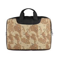 "Vintage Desert Brown Camouflage Macbook Air 11""(Twin sides)"