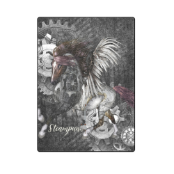 """Aweswome steampunk horse with wings Blanket 58""""x80"""""""