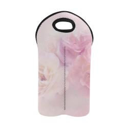 Delicate floral 218 by JamColors 2-Bottle Neoprene Wine Bag