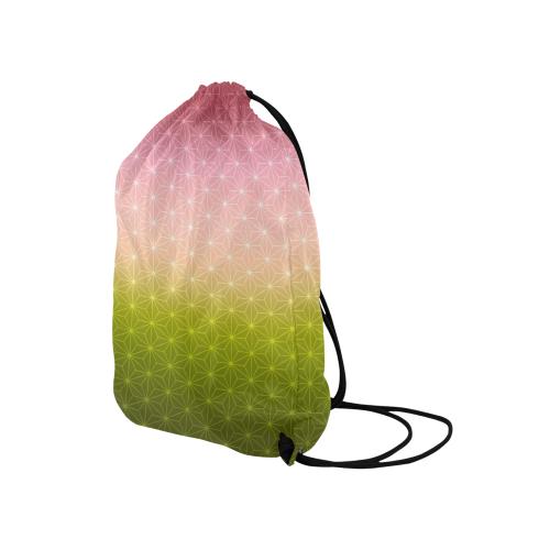 "01 SPRING Medium Drawstring Bag Model 1604 (Twin Sides) 13.8""(W) * 18.1""(H)"