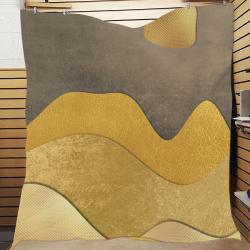"""sun space #modern #art Quilt 70""""x80"""""""