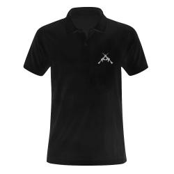 weapons-312751__340 Men's Polo Shirt (Model T24)